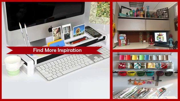 Awesome Home Office Organization Ideas apk screenshot