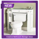 Creative Bathroom Storage Ideas icon