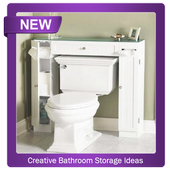 Creative Bathroom Storage Ideas icon