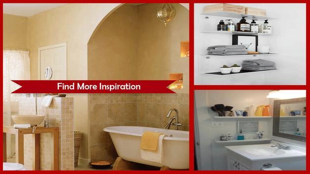 Creative Bathroom Storage Ideas screenshot 1