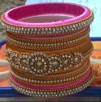 Silk thread bangles apk screenshot