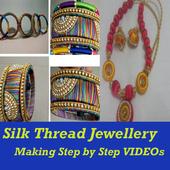 Silk Thread Jewellery Making icon