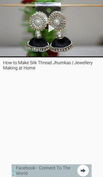 Silk Thread Jewellery Making apk screenshot