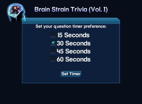 Brain Strain Trivia Vol.(I) screenshot 6