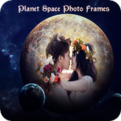 Planet Space Photo Frames icon