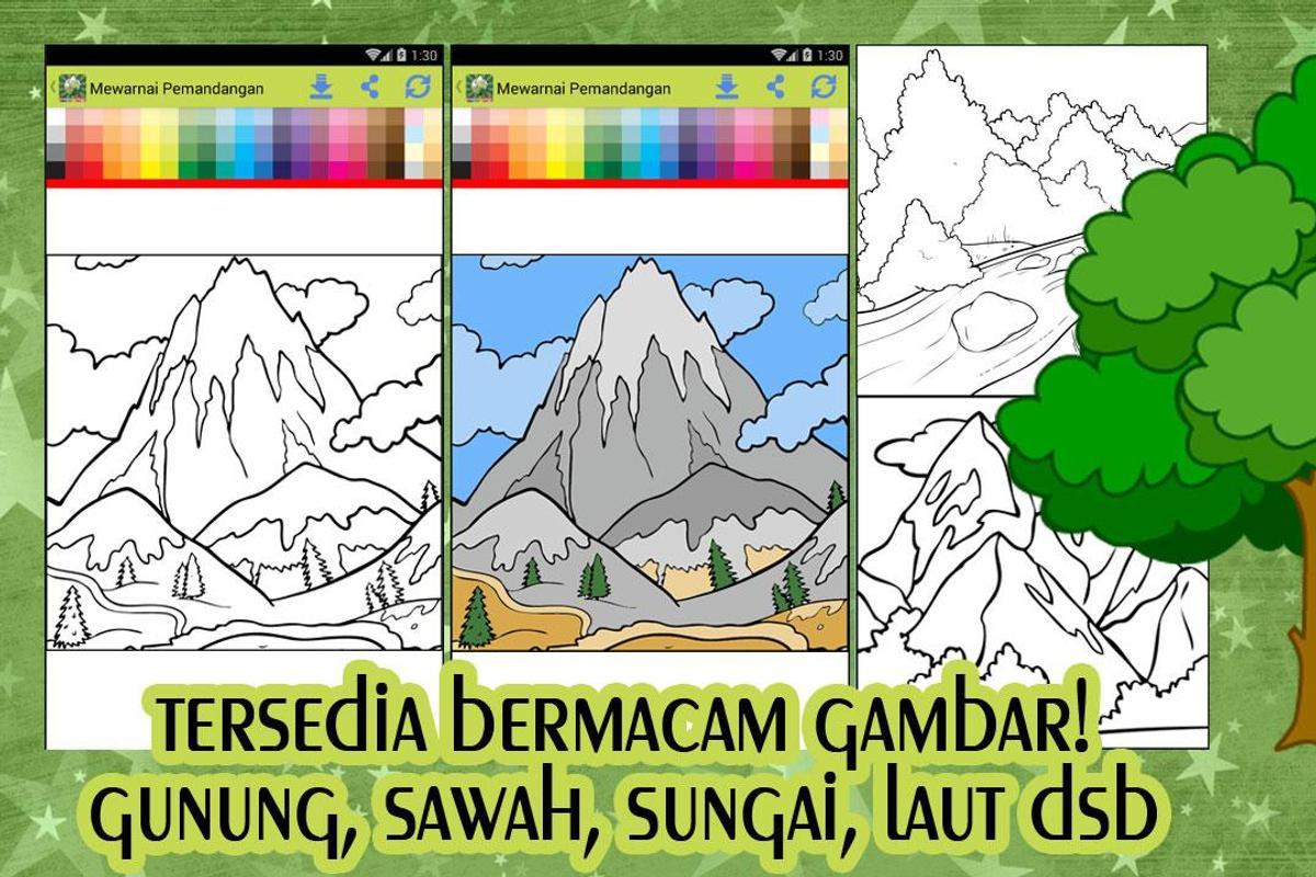 Mewarnai Pemandangan For Android Apk Download