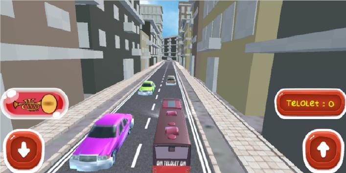 OM TELOLET OM!!! Bus Simulator poster