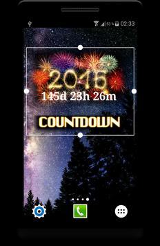 New Year 2019 Countdown Widget apk screenshot
