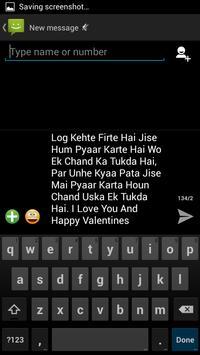 Happy Valentine Day SMS apk screenshot