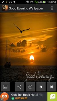 Good Evening Wallpaper poster