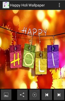 Happy Holi Wallpaper screenshot 3