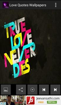 Love Quotes Wallpapers screenshot 2