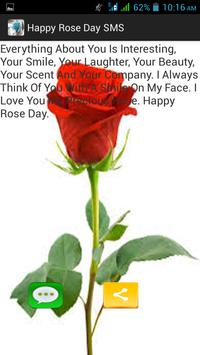Happy Rose Day SMS screenshot 2