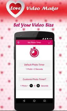 Love Video Maker 2017 apk screenshot