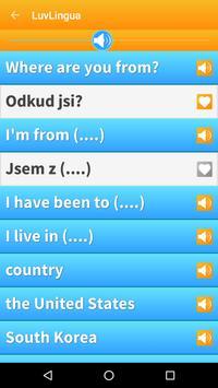 Learn Czech Language: Listen, Speak, Read screenshot 1