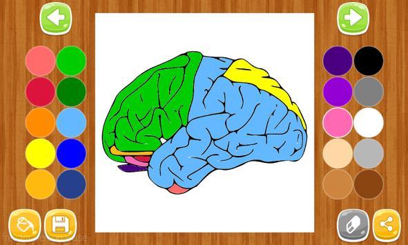 Anatomy Coloring Book Apk Screenshot