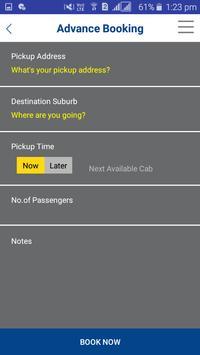 Silver Cabs Sydney screenshot 4