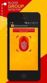 Blood Group Detector Prank poster