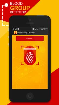 Blood Group Detector Prank apk screenshot