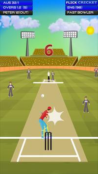 Flick Cricket apk screenshot