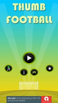 Thumb Football screenshot 1