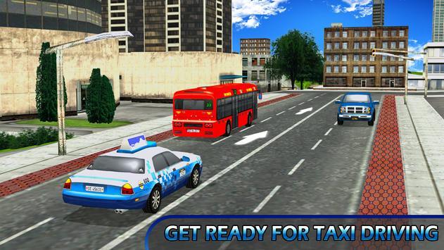 City Taxi Parking Driving Mania Game 3D screenshot 10
