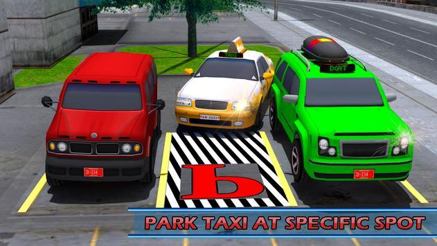 City Taxi Parking Driving Mania Game 3D screenshot 12