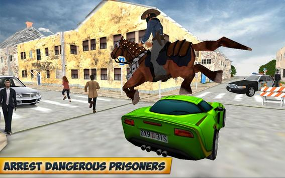 City Horse Police Simulation Crime Chase game free screenshot 11