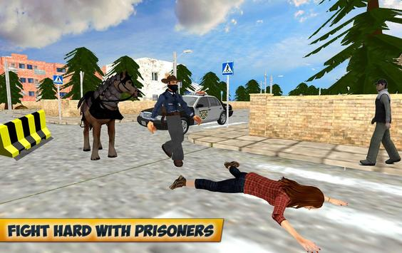 City Horse Police Simulation Crime Chase game free screenshot 15