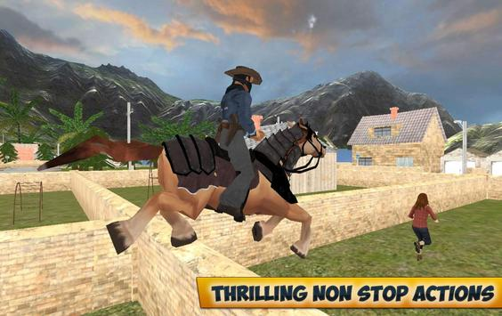 City Horse Police Simulation Crime Chase game free screenshot 2