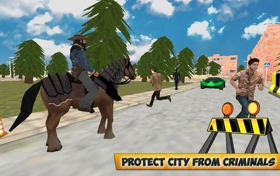 City Horse Police Simulation Crime Chase game free screenshot 6