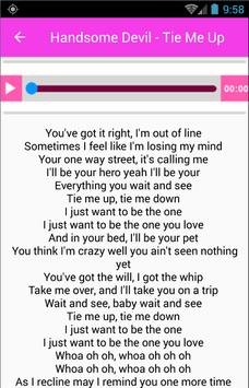 Handsome Devil Song Lyrics apk screenshot