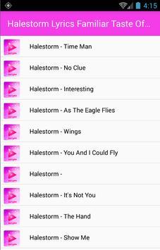 Halestorm Full Songs & Lyrics poster