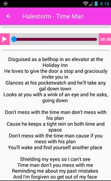 Halestorm Full Songs & Lyrics apk screenshot