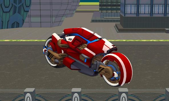 police sci fi bike rider park apk screenshot
