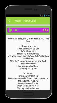 Akon Lyrics And Hits apk screenshot