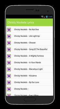 Christy Nockels Anchor Lyrics poster