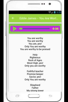 Eddie James Freedom Lyrics poster