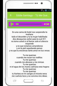 Eddie Santiago Mia Lyrics poster