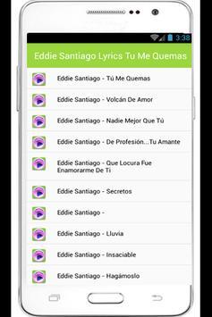 Eddie Santiago Mia Lyrics apk screenshot