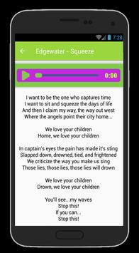 Edgewater Engage Lyrics apk screenshot