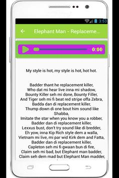 Elephant Man Lyrics Mastodon apk screenshot
