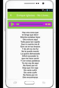 Enrique Iglesias Lyrics poster