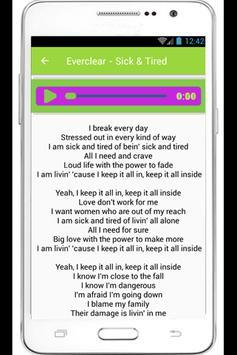 Everclear Lyrics poster