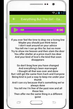 Everything But The Girl Lyrics poster