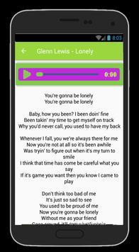 Glenn Lewis Lyrics And Song apk screenshot