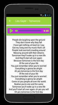 Leo Sayer Lyrics And Song apk screenshot
