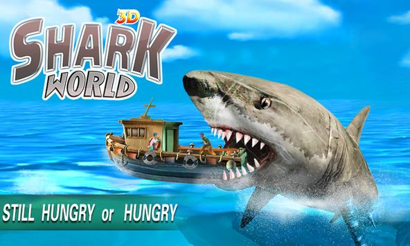 Shark World 3D apk screenshot