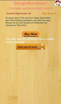 IQ Booster: Brain IQ Test apk screenshot