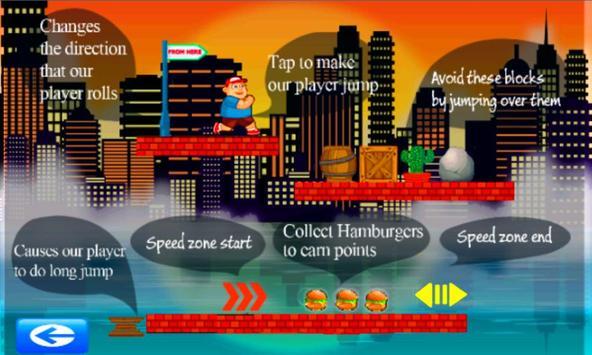 Hamburger Men Game screenshot 1